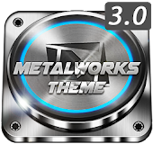 TSF Shell Theme Metalworks 3D