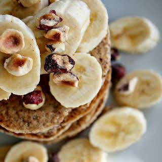 Cozy Banana Bread Pancakes.