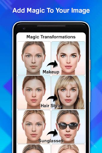 Face Age Editor App screenshot 2
