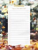 Fall To Do List - Checklist item