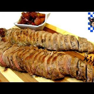 Spiced Pork Tenderloin Apple Chutney Recipes