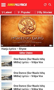 SongsPkLyrics - Hindi Lyrics- screenshot thumbnail