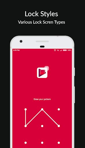 Materiale Applock - Blocca schermate App, PIN e Pattern Lock 8