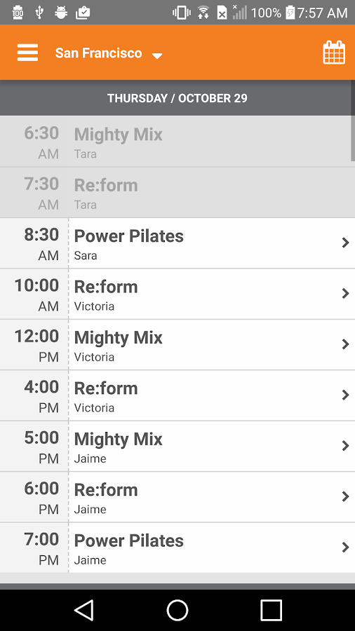 Mighty Pilates- screenshot