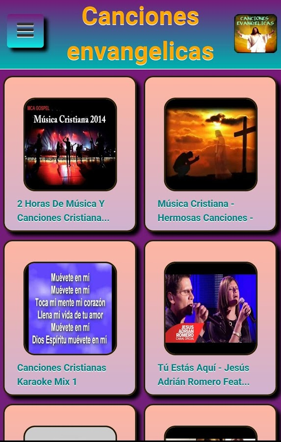gospel songs- screenshot