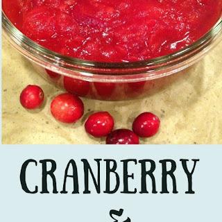 Cranberry & Clementine Sauce