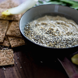 Everything Bagel Spiced Hummus