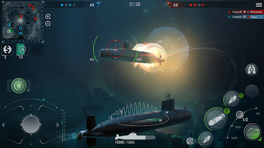 WORLD of SUBMARINES: Navy Shooter 3D Wargame mod apk download for android 2