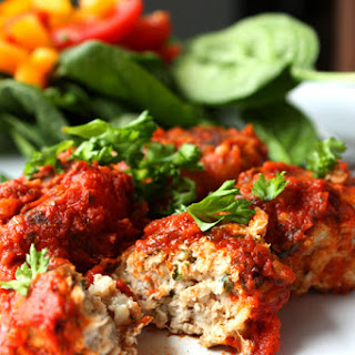 Turkey Marinara Meatballs.