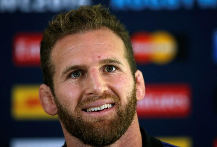 All Black captain, Kieran Read. Picture: REUTERS