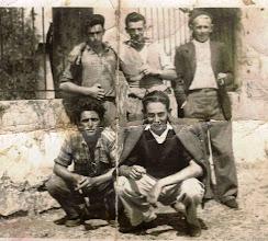 Photo: Ovito, Quini, Manolo (padre de Paca), Toño (Genito) y Foro.