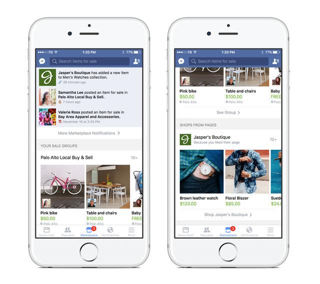 Hình ảnh Facebook Marketplace 2