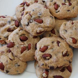 Almond Carob Chip Cookies Recipe