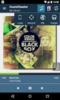 Screenshot of SoundSeeder Music Player