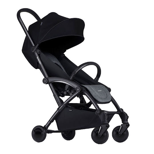 Bumprider Connect Stroller Black/Grey Melange
