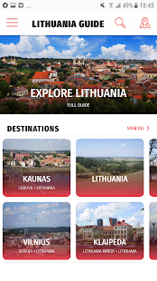 ✈ Lithuania Travel Guide Offline - náhled