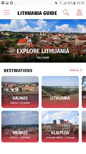 ✈ Lithuania Travel Guide Offline - náhled