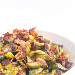 Oven Roasted Brussels Sprouts with Bacon Recipe