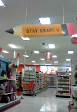 Photo: We headed to the grocery area. I like this sign. This would look cute in a classroom.