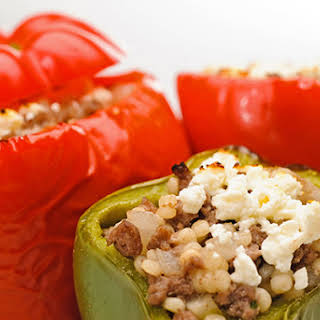 Mediterranean-Style Stuffed Peppers.