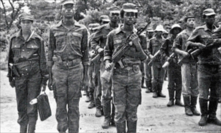FILE IMAGE: After the ANC was banned in 1960 thousands of its members went into exile, joining its military wing Umkhonto weSizwe in camps in several African countries.
