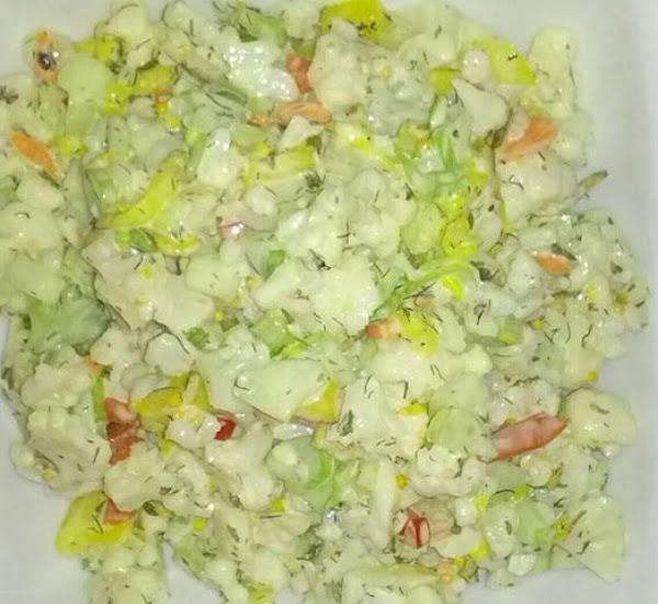 Cauliflower Dill Salad Recipe