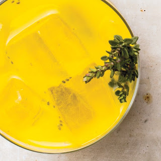 Turmeric-Ginger Tonic With Chia Seeds