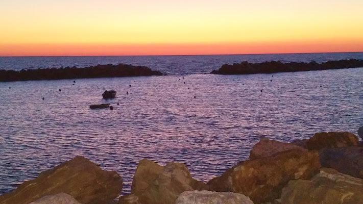Tramonto sul mare di DiegoCattel