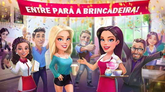 My Cafe Recipes & Stories Apk Mod Dinheiro Infinito 5