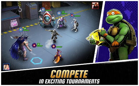 Ninja Turtles: Legends MOD (Unlimited bonuses,/mutagens/bucks) 3