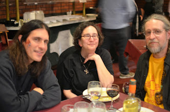 Photo: dinner at Panahar after the festival