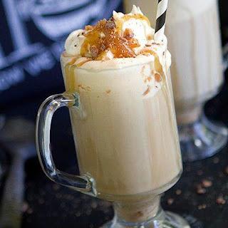 Caramel Ice Cream Coffee (Affogato).