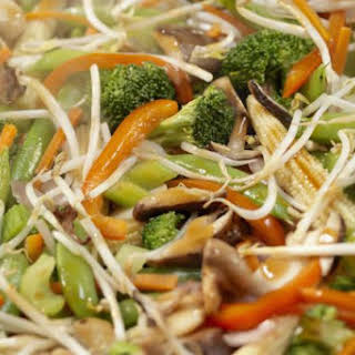 Saucy Stir-fry Bean Sprouts.