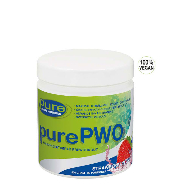 pure PWO – Preworkout