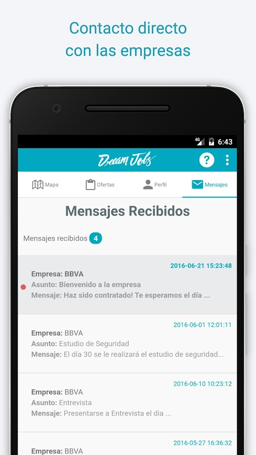 DreamJobs - Trabajo y Empleo- screenshot