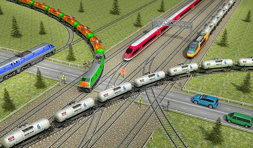 Indian Train City Pro Driving- Oil Tanker Train  screenshots 11