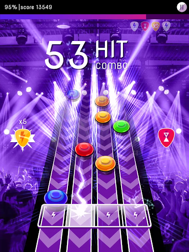 Rock Challenge: Electric Guitar Game 1.2 screenshots 9