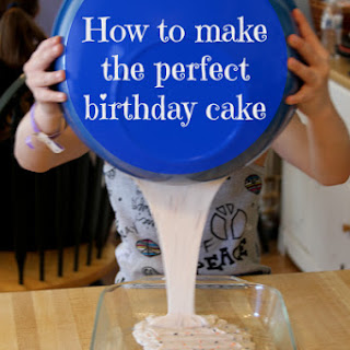 How to Make the Perfect Birthday Cake.