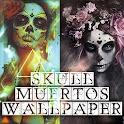 Muertos Mexico Skull Wallpaper icon