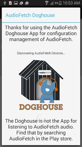 AudioFetch Doghouse