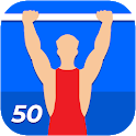 50 Pull-Ups Workout Challenge icon