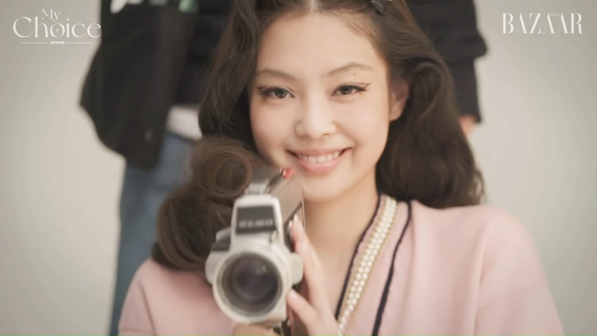 blackpink jennie Harpers BAZAAR Korea yt