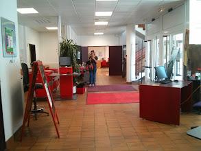 Photo: Médiathèque Anatole France (Trappes) Hall d'entrée