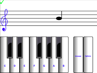 Learn sight read music notes ¼- screenshot thumbnail