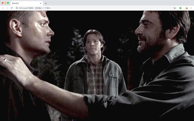 supernatural HD New Tab TV Dramas Theme