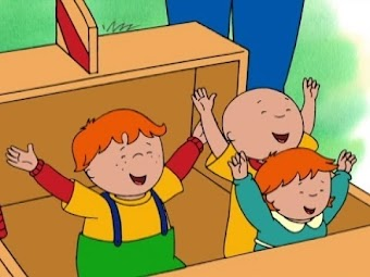Caillou's Gym Day/Our Rocket Ship/Caillou Helps Grandpa/Backyard Bowlers/Caillou's Milk Run