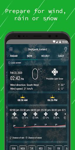 Weather Radar u2014 Live Maps & Alerts 4.3 screenshots 3