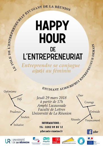 Flyer Happy Hour de l'Entrepreneuriat