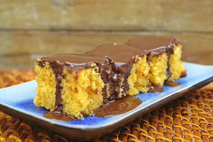 Carrot Cake with Chocolate Icing Recipe