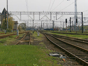 Photo: Lokomotywownia (w oddali) {Legnica; 2013-05-05}